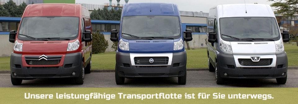 Botendienst Wien: Unsere leistungsfähige Transportflotte ist für Sie unterwegs.