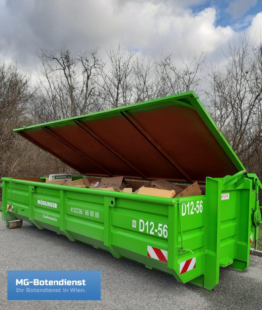 Wohnungsräumungen mit Mulde/Container