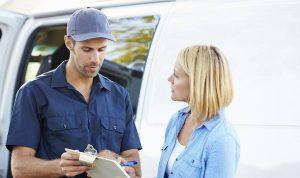 Transporterverleih mit Fahrer